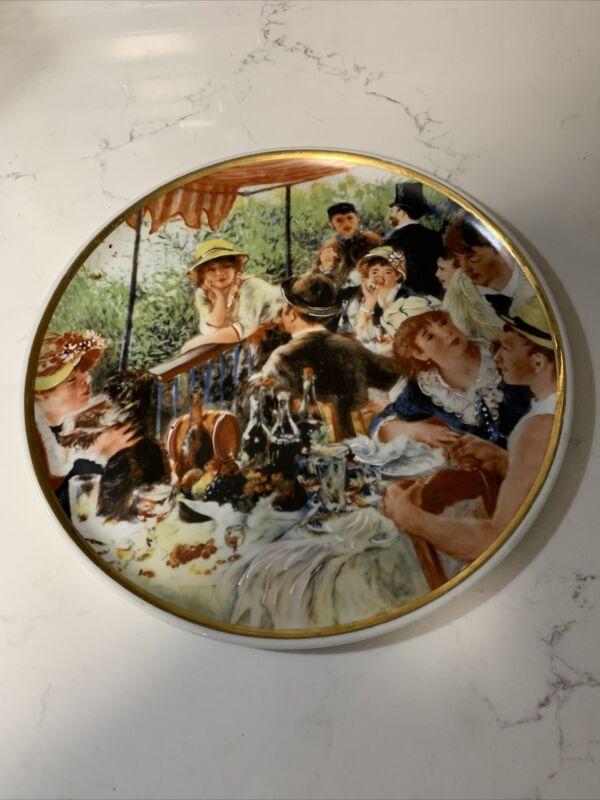 Limoges France Renoir Platter Porcelains Artistique Advertising