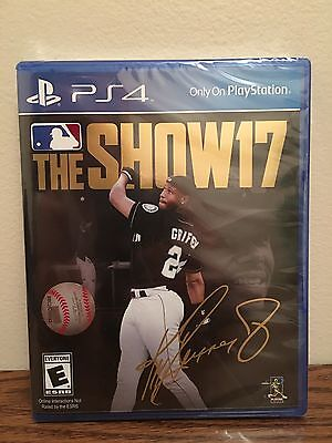 Mlb  The Show 17  Sony Playstation 4  2017  Ps4 Brand New   Same Day Shipping