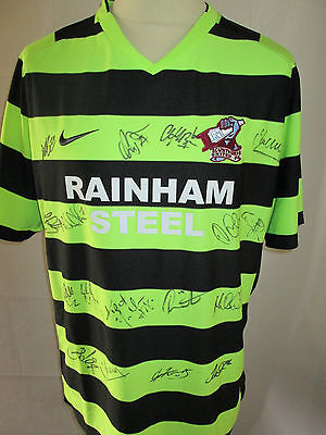 Scunthorpe United Away Football Shirt Signed by 2010-2011 Squad with COA /31962 image