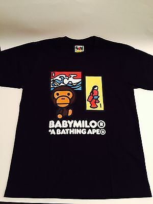 BAPE Baby Milo KYOTO JAPAN EXCLUSIVE LIMITED EDITION PRINT BATHING APE