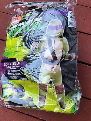 Teenage Mutant Ninja Turtles Donatello Costume Medium 8-10   - NEW