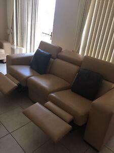 Demir leather couches x 3 set Guildford West Parramatta Area Preview