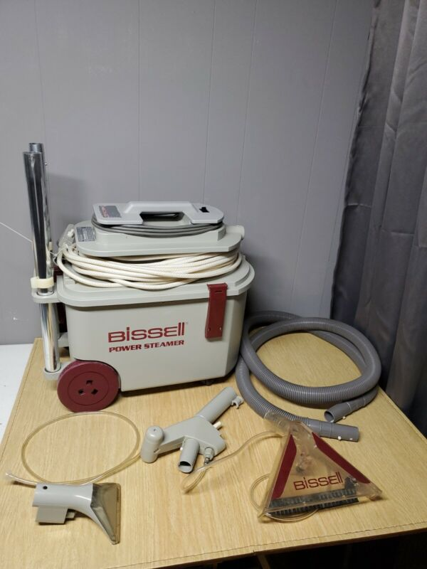 Bissell Power Steamer 1631 Floor Cleaner Complete
