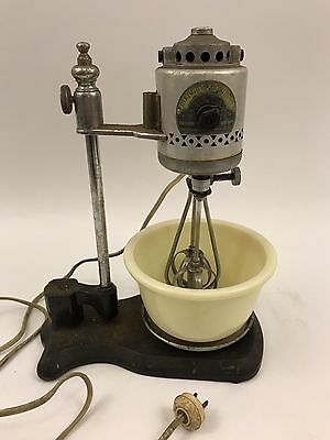 Antique Manning Bowman Electric Kitchen Mixer Early 1900s Cast Iron Vintage