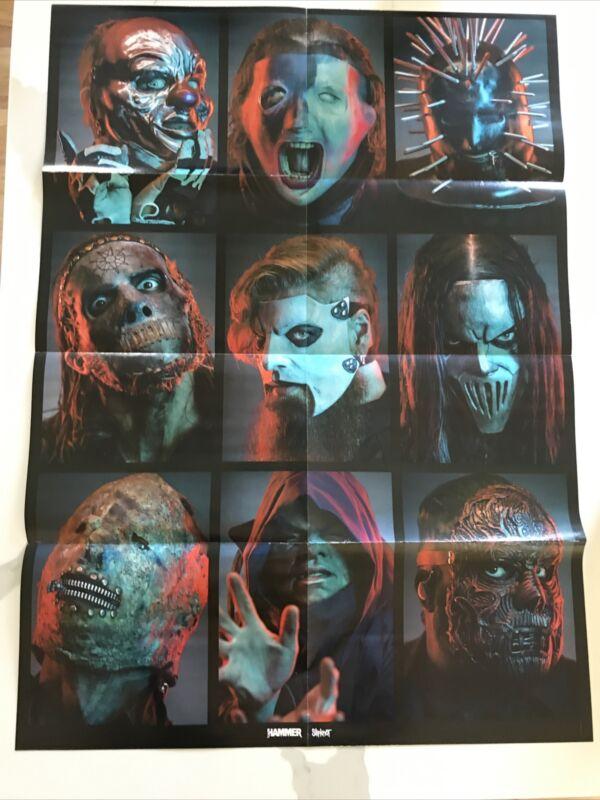 Slipknot Jumbo Poster 30x22 Double Sided Metal Hammer Freeship