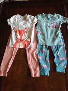 Lot of girls jammies. Size 3T