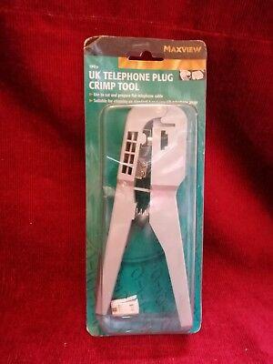 Maxview UK Telephone Plug Crimp Tool
