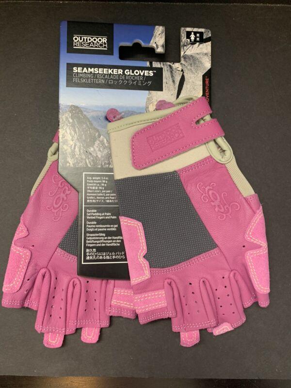 New Women's Medium - Outdoor Research - Seemseeker - Rock Climbing Gloves