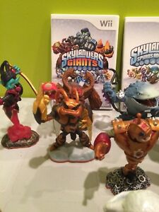 Nintendo Skylanders & Giants games & figurines