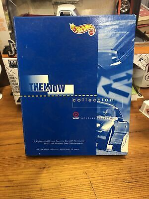 Hot Wheels 1995 Target Then and Now Collection 8 Car Set Limited Edition 11,964