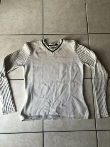 Pull col v next taille s