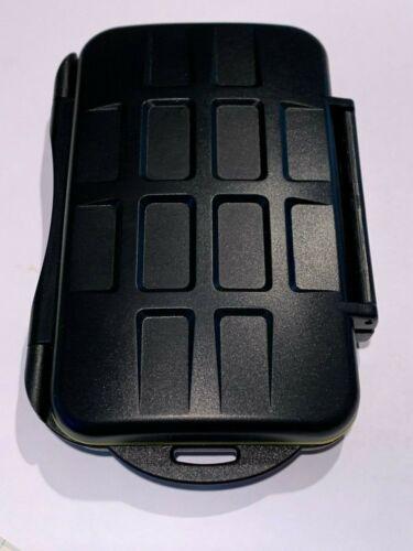 Hard Waterproof Memory Card Case, 2 CF Slots & 3 XQD Slots, Used