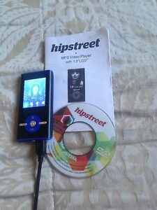 "Hipstreet MP3 player with 1.8"" LCD"