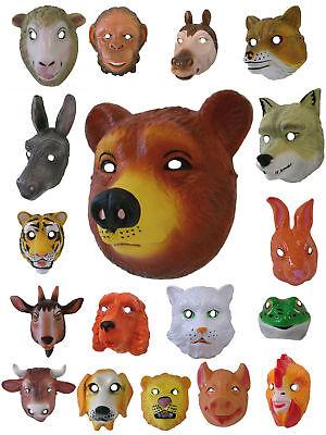 WoW Tiermaske Hund Kuh Frosch Bär Schaf Kinder Affe Maske Tier Fasching (Maske Hund)