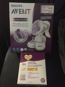 Avent Breast pump & bags