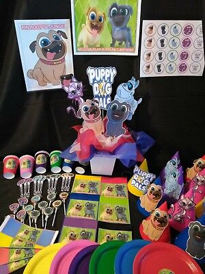 Puppy dog pals birthday party supplies and decorations - Puppy Birthday Decorations