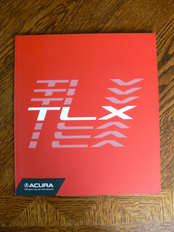 2018 Acura TLX Factory Brochure, ~48pgs