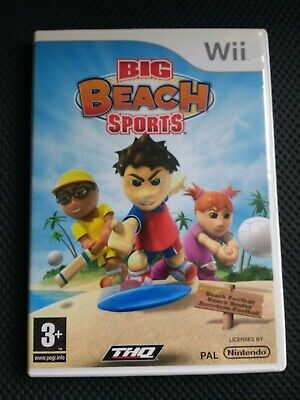 Big Beach Sports Nintendo Wii Football, Volleyball, Cricket, Golf, Boules Family for sale  Shipping to Nigeria
