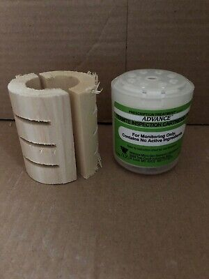 10 Advance Termite Bait Station Monitor Inspection Cartridges + Woods. Advance Termite Bait Station