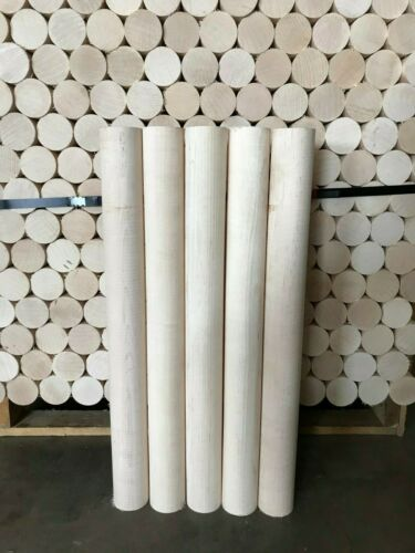 "28"" *QUALITY* *KILN DRIED* Hard MAPLE Woodworking/Craft Dowels"