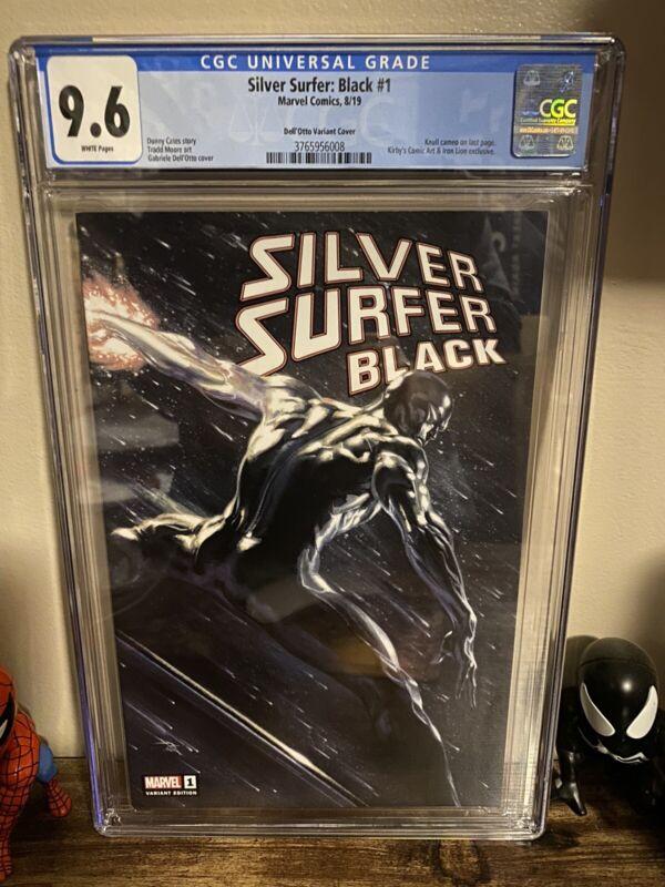 Silver Surfer Black 1 CGC 9.6 Gabrielle Dell'otto Trade Dress Knull Cameo
