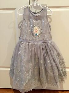 Frozen party dress (Elsa) size 5/6 South Coogee Eastern Suburbs Preview