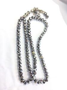 99 X 8mm Silver Crystal Prayer Beads Muslim Islamic Very Nice Tasbih Masbah Gift