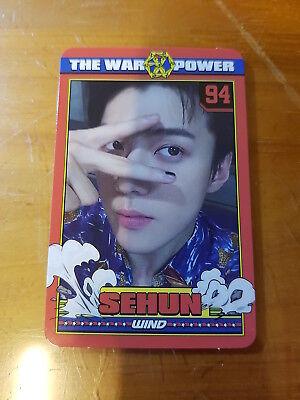 EXO 4th Album Repackage Power Sehun Type-B Photo Card Official K-POP(37