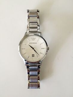 Emporio Armani watch - 43mm White face (great condition) Roseville Ku-ring-gai Area Preview