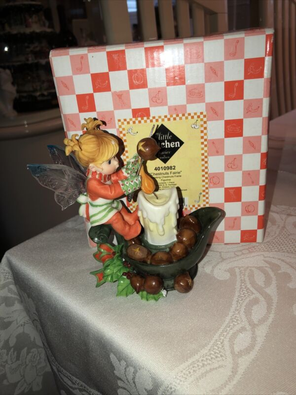 little kitchen fairies enesco Chestnuts