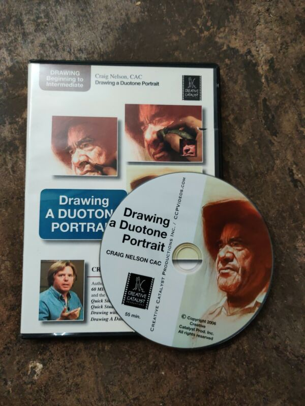 Drawing a Duotone Portrait by Craig Nelson