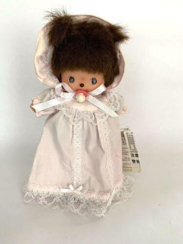 "SEKIGUCHI Bebichhichi Plush Stuffed Doll Girl 6"" Pink Nightgown"