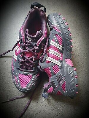 ADIDAS KANADIA TR3 Trail Running Shoes Size 5 UK 38 EU~Pink and Grey PRISTINE👟