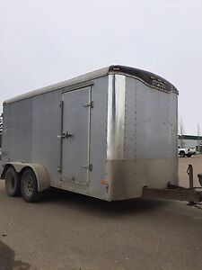 Enclosed trailer 7x14 price is firm.