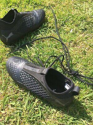 PUMA Future Netfit Football Boots Black - Size 5.5