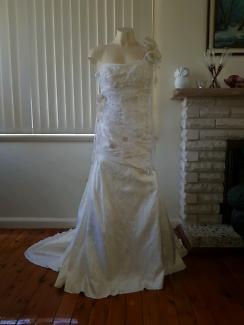 Wedding Gown, Lasposa, New UK/AU12 US10
