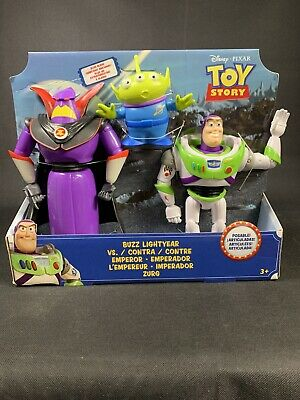 Toy Story 4 Buzz Lightyear Vs Emperor Zurg And Alien👽 Disney Pixar New in Box