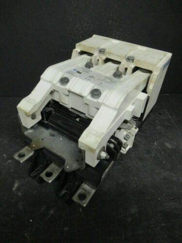 300 AMP EATON CONTACTOR A201K5CAZ1 NEMA: 5  600 VAC  COIL: 120 VAC  MODEL: J