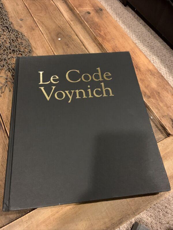 THE VOYNICH MANUSCRIPT 1st Edition 2005 Jean Claude Gawsewitch Le Code Voynich
