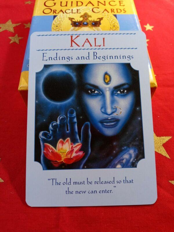 Kali - Single Card Replacement - Authentic Goddess Guidance Doreen Virtue