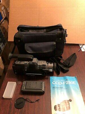 Sony Handycam Video 8 CCD-F250E Camera