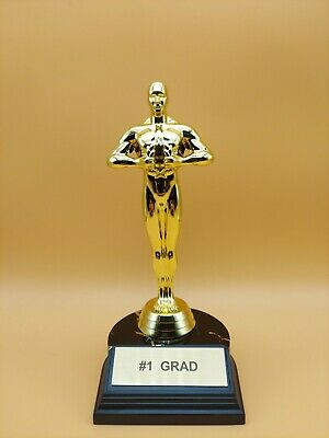 """Aahs Engraving Graduation Greetings and Superlatives Trophies-7"""" H x 3.5"""" L x 3"""""""