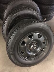 Four 205/70/15 winter tires