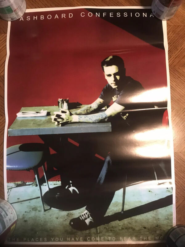 Dashboard Confessional Promo Poster 18x24