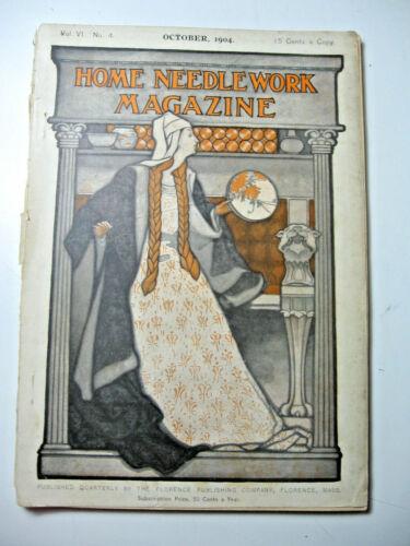 October 1904 Home Needlework Magazine