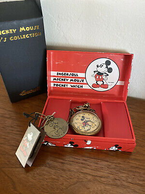 New Ingersoll Mickey Mouse pocket Watch 1930s