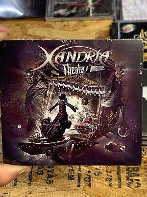 XANDRIA - THEATER OF DIMENSIONS [DIGIPAK] * NEW CD comprar usado  Enviando para Brazil