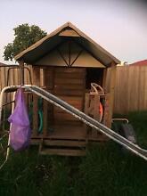 Used Childrens very solid wooden cubby house needing some TLC Werribee Wyndham Area Preview