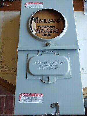 Milbank U3989-xl 100 Amp Load Center