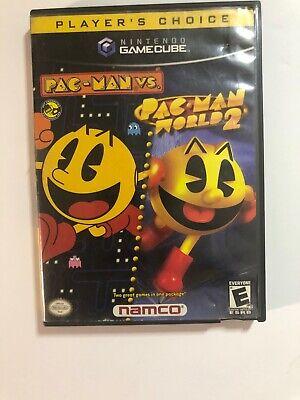 Pac-Man vs. / Pac-Man World 2 (Nintendo GameCube, 2003) - Tested - Working